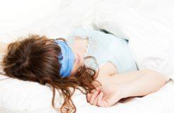 Создаем повязку на глаза для сна
