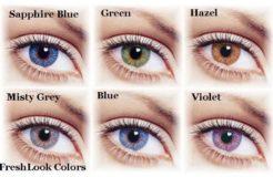 Популярные цвета глаз у человека