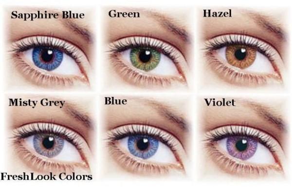 цвет глаз у человека