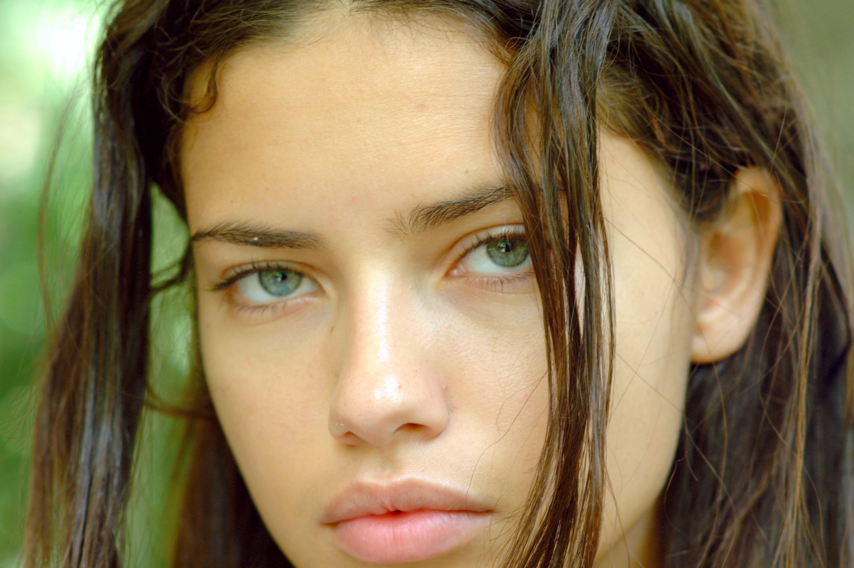Красивое лицо без косметики 84