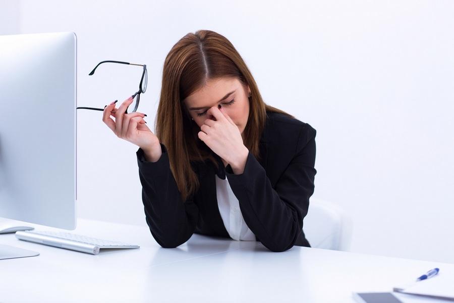усталость за компьютером