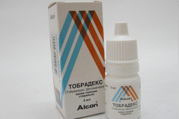 глазные капли тобрадекс