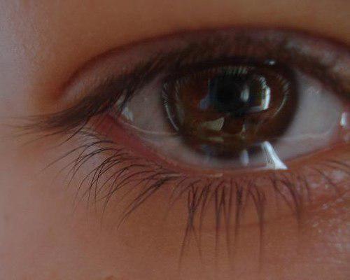 слезятся глаза
