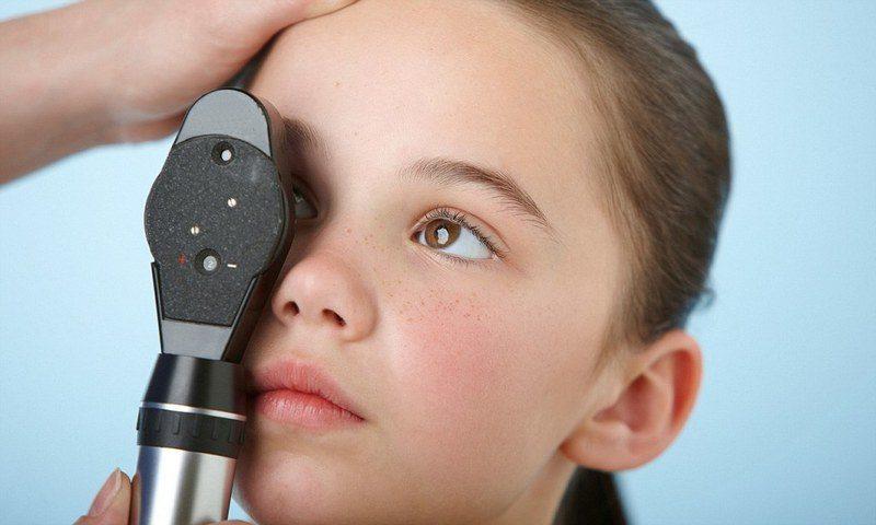 Обследование глазного дна у детей