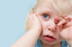 Что делать если у ребенка чешутся глаза