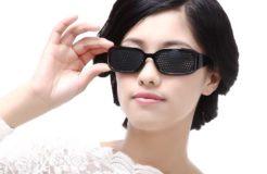 Подбираем очки с дырочками для улучшения зрения