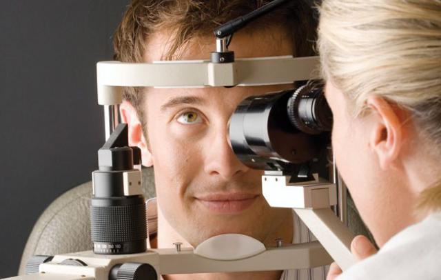 Диагностирование глаза