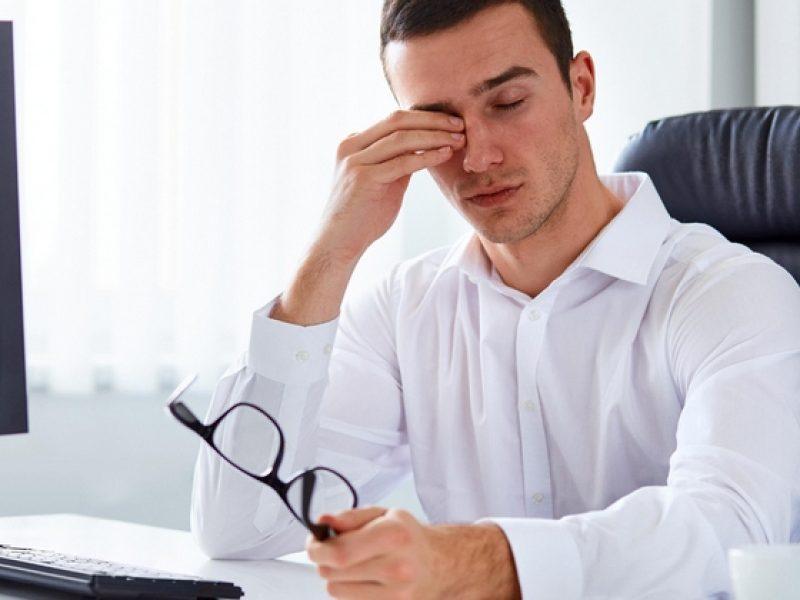усталости перед компьютером