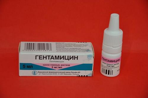 глазные капли Гентамицин