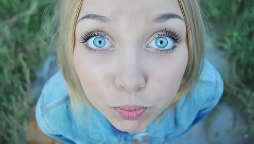 удивленные глаза