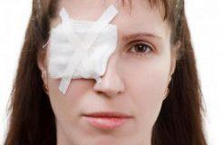 Первая помощь при травме глаза, их виды и лечение