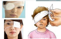 Первая помощь при ранении глаза, его классификация