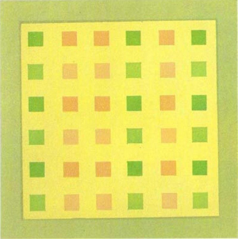 разноцветные ряды